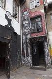 Graffiti in Croatia Royalty Free Stock Images