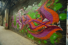 Graffiti Culture on 798 abandon Factory Royalty Free Stock Photography