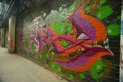 Graffiti Culture on 798 abandon Factory Royalty Free Stock Photography