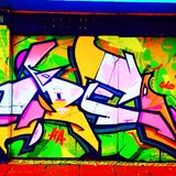 Graffiti de Brighton Photographie stock