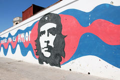 Graffiti de Che Guevara Photographie stock