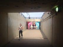 Graffiti de Chicago Photographie stock