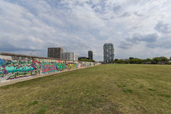 Graffiti de galerie de mur de Berlin/côté est Images libres de droits