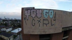 Graffiti de la Nouvelle-Orléans photographie stock libre de droits