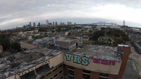 Graffiti de la Nouvelle-Orléans images libres de droits