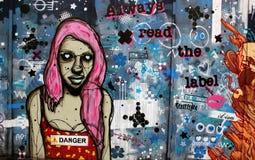 Graffiti de Londres image libre de droits