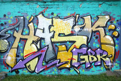 Graffiti de mur Image stock