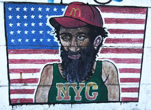 Graffiti de NYC Photos stock