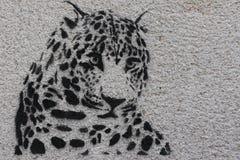 Graffiti de Paris photo stock