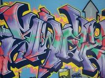 Graffiti de plage de Bondi Images libres de droits