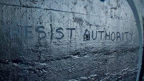 Graffiti de redoute de York Photos stock