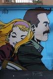 Graffiti de Rome Images stock