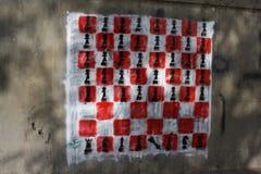 Graffiti de révolution Image stock