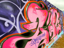Graffiti de ville illustration libre de droits
