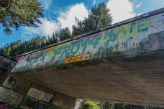 Graffiti 3 del passaggio Fotografie Stock