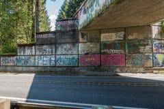 Graffiti 2 del passaggio Fotografia Stock Libera da Diritti