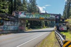 Graffiti 7 del passaggio Fotografia Stock Libera da Diritti