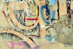 Graffiti della città Immagine Stock Libera da Diritti