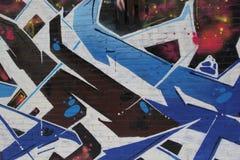 Graffiti urbani della città Fotografia Stock