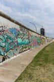 Graffiti della galleria lato est/del muro di Berlino fotografia stock libera da diritti