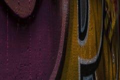 Graffiti della parete immagine stock libera da diritti