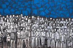 Graffiti della parete Fotografie Stock Libere da Diritti