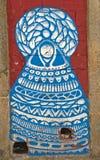 Graffiti della via a Oporto Fotografia Stock Libera da Diritti
