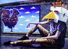 Graffiti Denvers, Colorado Lizenzfreie Stockfotografie