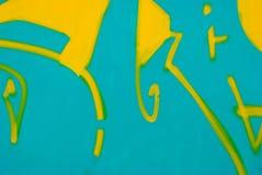 Graffiti detail Stock Image