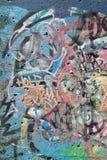 Graffiti a Detroit Immagine Stock