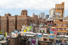 Graffiti di Brooklyn Fotografia Stock Libera da Diritti