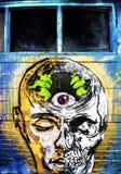 Graffiti di Denver, Colorado Fotografia Stock Libera da Diritti