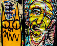 Graffiti di Denver, Colorado Immagine Stock Libera da Diritti