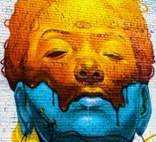 Graffiti di Denver, Colorado Immagini Stock