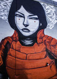 Graffiti di Denver, Colorado Fotografia Stock