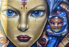 Graffiti di Denver, Colorado Immagine Stock