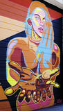 Graffiti di Denver, Colorado Fotografie Stock