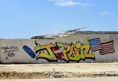 Graffiti di Joplin Fotografie Stock Libere da Diritti