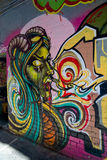 Graffiti di Melbourne Fotografie Stock