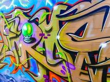 Graffiti di New York City Fotografia Stock Libera da Diritti
