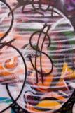 graffiti dolara Zdjęcia Royalty Free