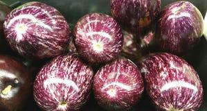 Graffiti Eggplant Royalty Free Stock Photo
