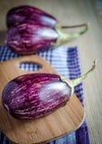 Graffiti Eggplants Stock Photography