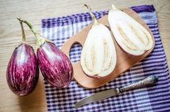Graffiti Eggplants Stock Image