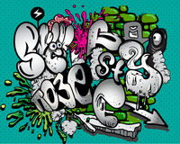 Graffiti elements Stock Photo