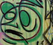 Graffiti en markeringen stock foto's