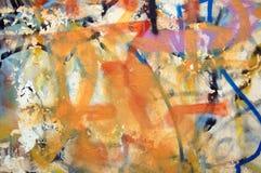 Graffiti esposti all'aria Fotografia Stock