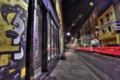 Graffiti est de Londres Photographie stock libre de droits