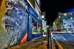 Graffiti est de Londres Image libre de droits