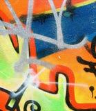 Graffiti et étiquettes Images stock